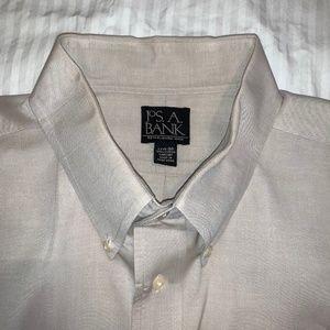 Jos. A. Bank Men's Pinpoint Button-Down Collar